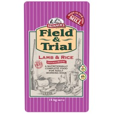 Skinners Field and Trial Lamb and Rice Hypoallergenic 15kg