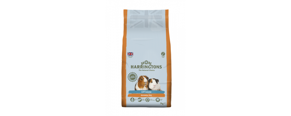 Harringtons Optimum Guinea Pig Nuggets 2kg - Promo