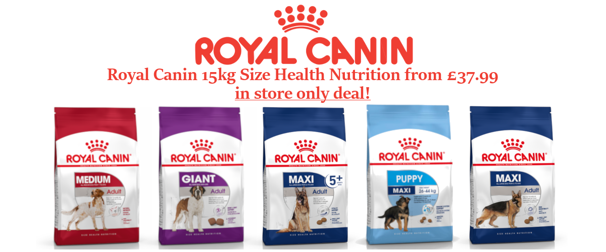 Royal Canin 15kg Size Health Nutrition