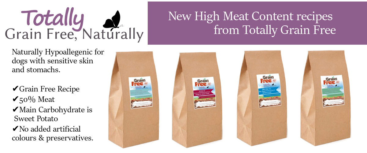 New Totally Grain Free Dog Food Flavours