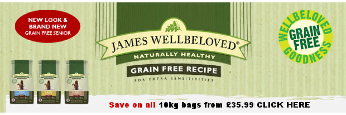 James Wellbeloved Grain Free 10kg