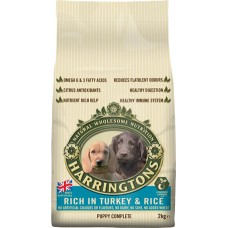 Harringtons Puppy Turkey and Rice 10kg