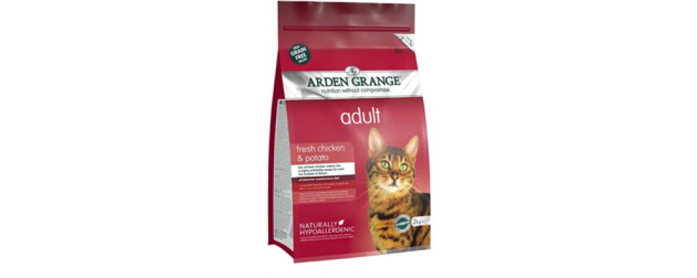Arden Grange Adult Cat - Fresh Chicken and Potato 2kg