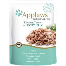 Applaws Tender Tuna in Jelly Pouch 16x70g