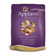 Applaws Chicken Breast with Rice Pouch 12x70g