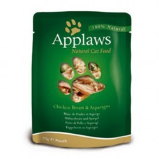 Applaws Chicken Breast with Asparagus Pouch 12x70g