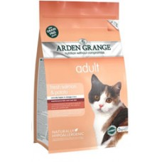 Arden Grange Adult Cat - Fresh Salmon and Potato 2kg