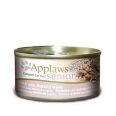 Applaws Senior - Tuna with Mussels in Jelly 24x70g