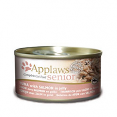 Applaws Senior - Tuna with Salmon in Jelly 24x70g