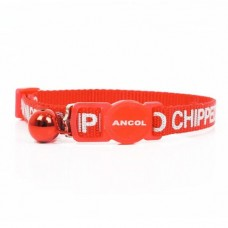 Ancol Collar I Am Micro-chipped, Assorted colours