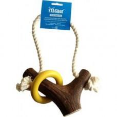 Stagbar Deer Antler, Multi Chew Dog Toy