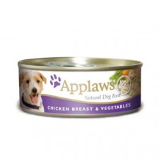 Applaws Cans Chicken Breast and Vegetables 16x156g