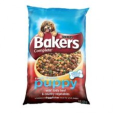Bakers Complete Puppy Beef and Country Veg 12.5kg