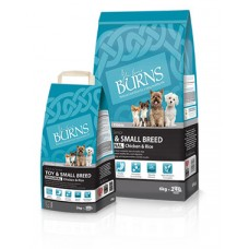 Burns Toy - Small Breed - Original Chicken and Rice 2kg