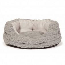 Danish Design Pewter Slumber Bed 18Inch - 46cm