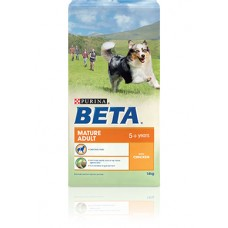 Purina BETA Mature Adult 5+ years with Chicken 14kg