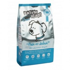 Barking Heads Fish N Delish GRAIN FREE Salmon and Trout 12kg