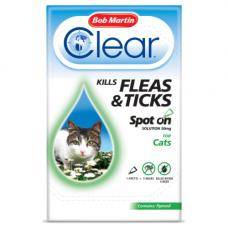 Bob Martin Clear Spot On Cat, 1 Flea Tick Treatment