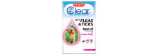 Bob Martin Clear Spot On Large Dog, 3 Flea Tick Treatments