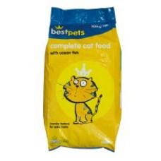 Best Pets Fish Adult Complete Cat Food 10kg