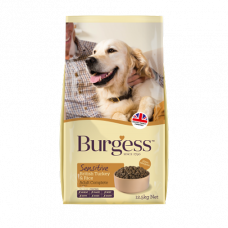 Burgess Sensitive Adult British Turkey 2kg