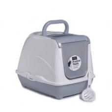Clean N Tidy Large Flip Hooded Loo, Classic Colours