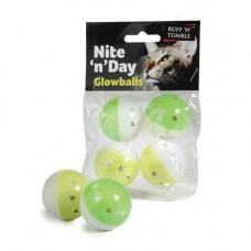 Ruff N Tumble Nite N Day Glowballs 4 Pack