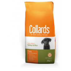 Collards Puppy - Turkey and Rice 2kg