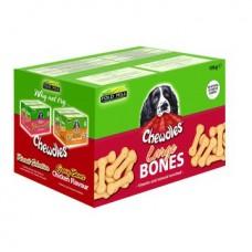 Chewdles Plain Large Bones 10kg