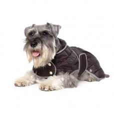 Ancol Black Extra Warm Diamond Quilt Coat - Large