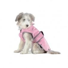 Ancol City Coat Fleece Lined Coat Pink - Large