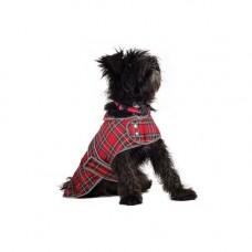 Ancol Highland Red Tartan Coat - Medium