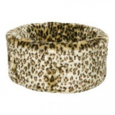 Danish Design Cat Cosy Leopard Bed Medium 50cm