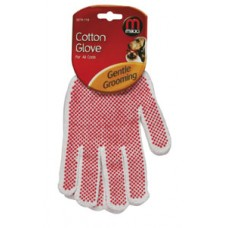 Mikki Cotton Glove for Gentle Grooming