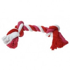 Ruff N Tumble 2 Knot Rope Dog Toy 90g, Small 22.5cm