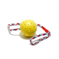 Classic Jumbo Rubber Ball on Rope 75mm/3