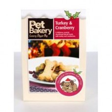 Pet Bakery Turkey and Cranberry 240g
