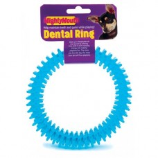 Pennine Mighty Mouth Dental Ring Dog Toy, Assorted colours
