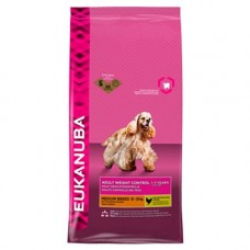 Eukanuba 2x Medium Breed Weight Control 12kg (24kg)