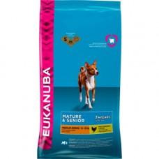 Eukanuba Mature Senior Medium 7+ Breed Dog Food 12kg