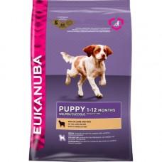 Eukanuba 2x Lamb and Rice Puppy Food 12kg (24kg)