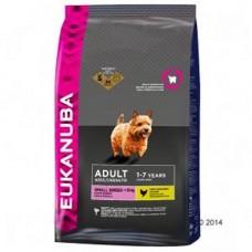 Eukanuba 2x Chicken Small Breed Adult 12kg (24kg)