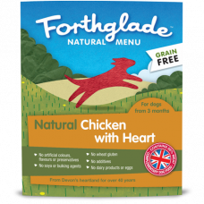 Forthglade Just Chicken with Heart GRAIN FREE18x395g