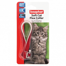 Beaphar Cat Flea Collar Glitter - Assorted Colours 30cm