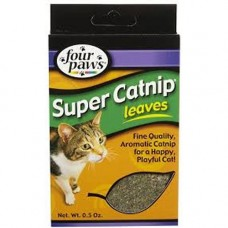 Four Paws Super Catnip Leaves and Blossom 0.05oz