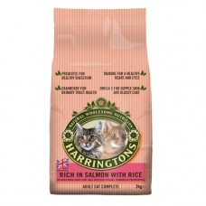 Harringtons Cat Salmon and Rice 2kg