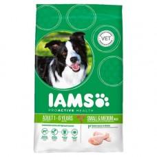 Iams Adult Dog - Small & Medium Breed 3kg