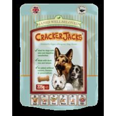 James Wellbeloved Crackerjacks 225g - Duck x6