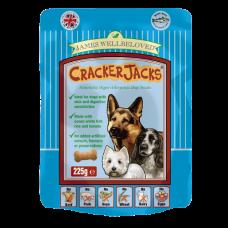 James Wellbeloved Crackerjacks 225g - Fish x6