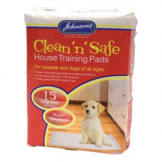 Johnsons Puppy House Training Pads 15 Pack